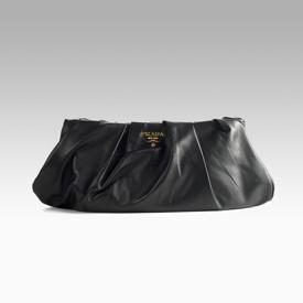 prada saffiano lux double-zip tote bag black - Waterproof bags + Prada   tresormakati
