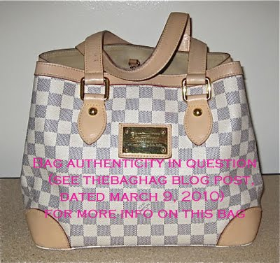 dd9ea0437aea Fake or Real  The Louis Vuitton Hampstead PM Authentication ...